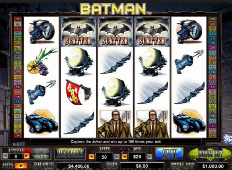 Batman Slots Free Play & Real Money Casinos